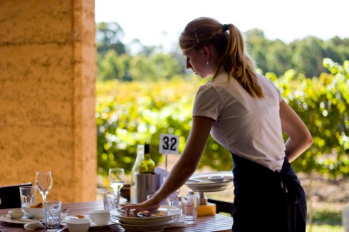 Providore waitress