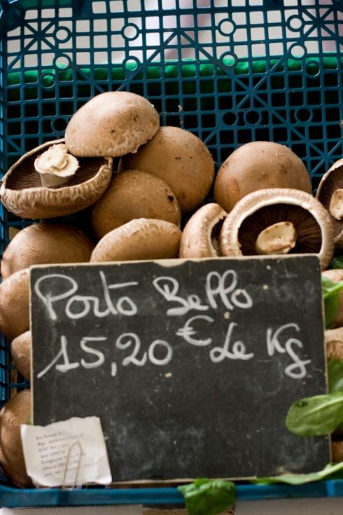 Porto bello mushrooms