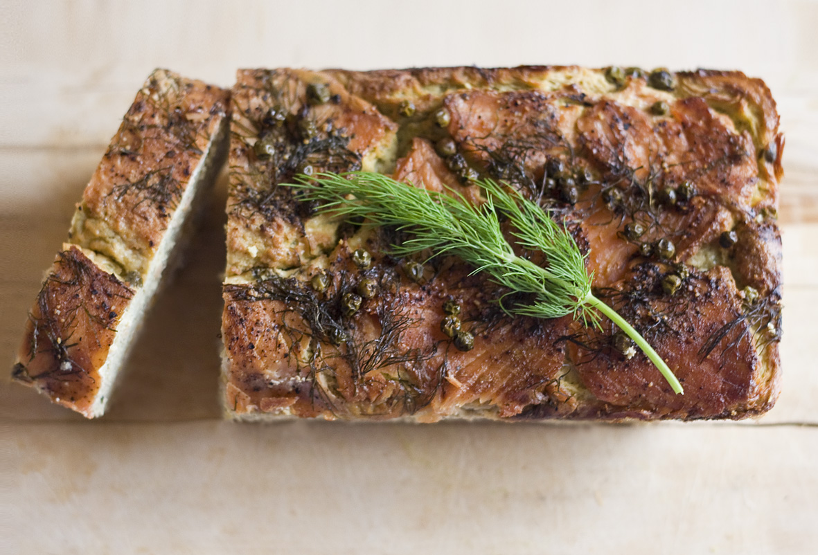 How to stay thin in france the gourmet dukan recipe for Smoked fish recipe