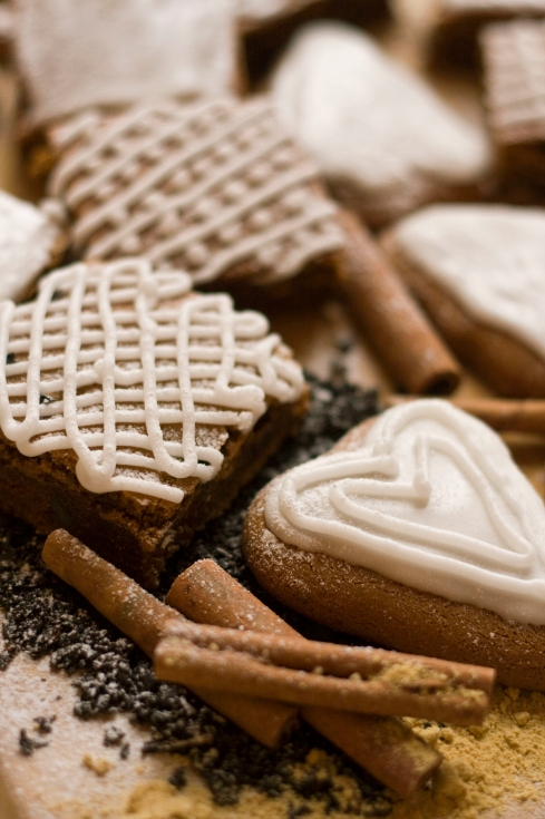 lebkuchen with spices