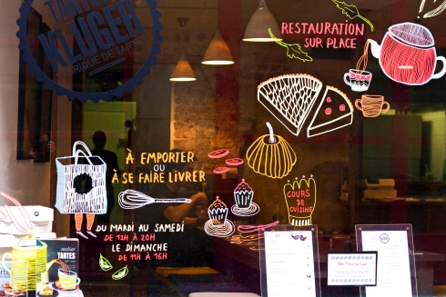 Tartes Kluger window