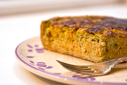 Carrot_Lemon_Coriander_Tart