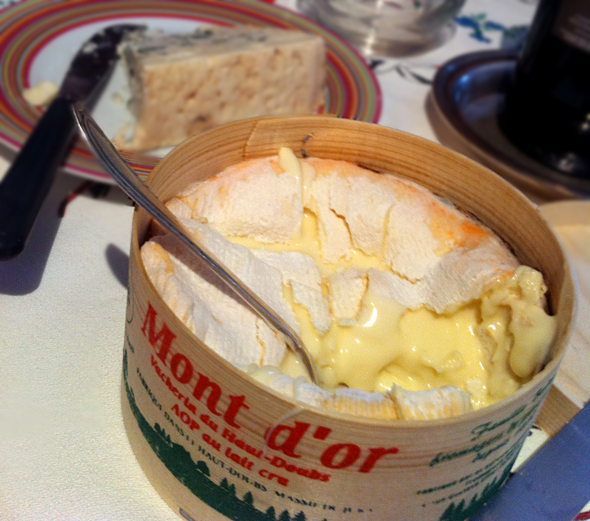 Mont d or french for foodies - Mont d or fromage ...