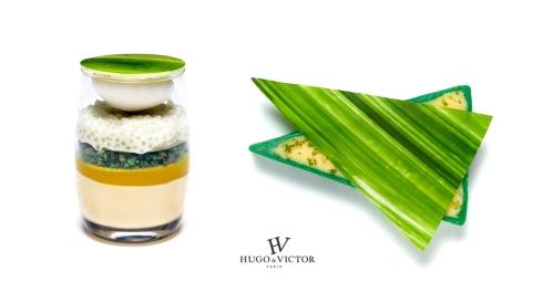 Hugo et Victor Combawa desserts