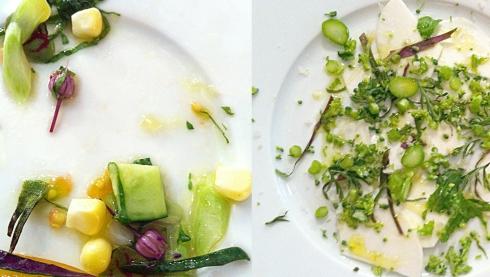 Assiette des Legumes cru par Yamashita