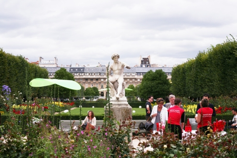 Palais Royale Gardens, Paris