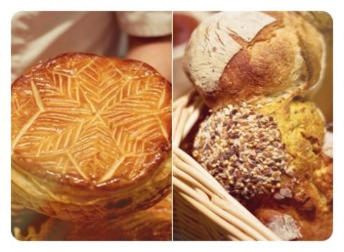 Galette des Rois et La couronne de pain