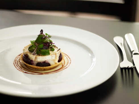 Cafe Sydney beetroot and goats cheese tart