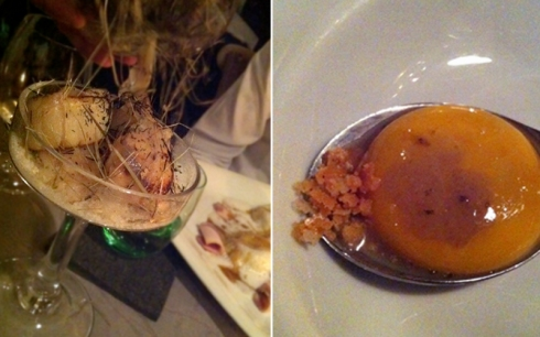 ciasa mia paris truffle injected egg