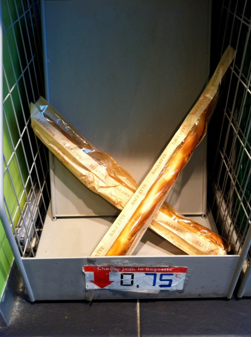 bad baguettes or french sticks paris