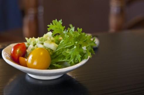 Salad bowl at Yamashita's